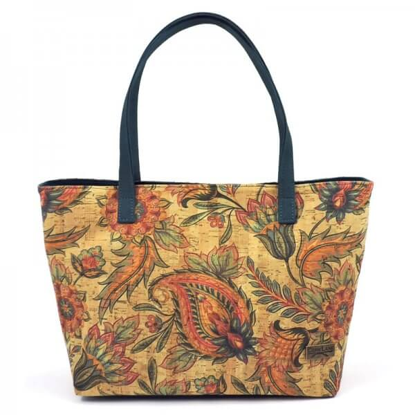 Tote bag tropical flowers