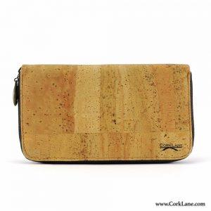 Cork purse surface