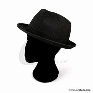 Trilby hat black