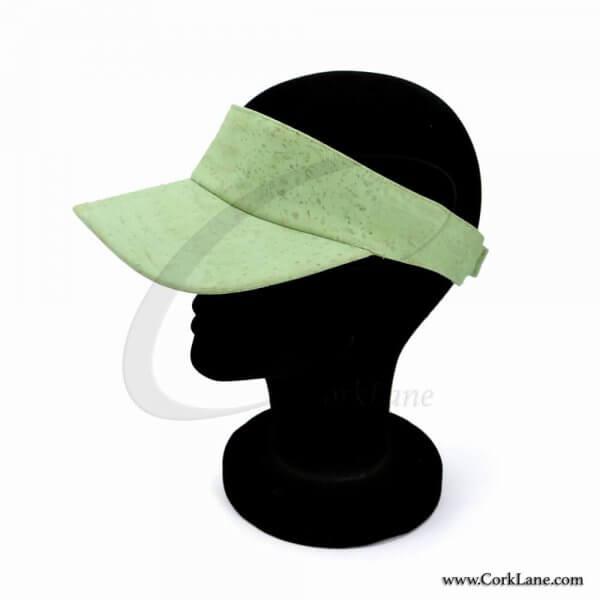 Cap's peak light green