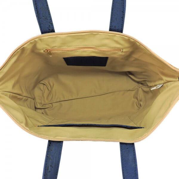 Shoulder bag blue flecks